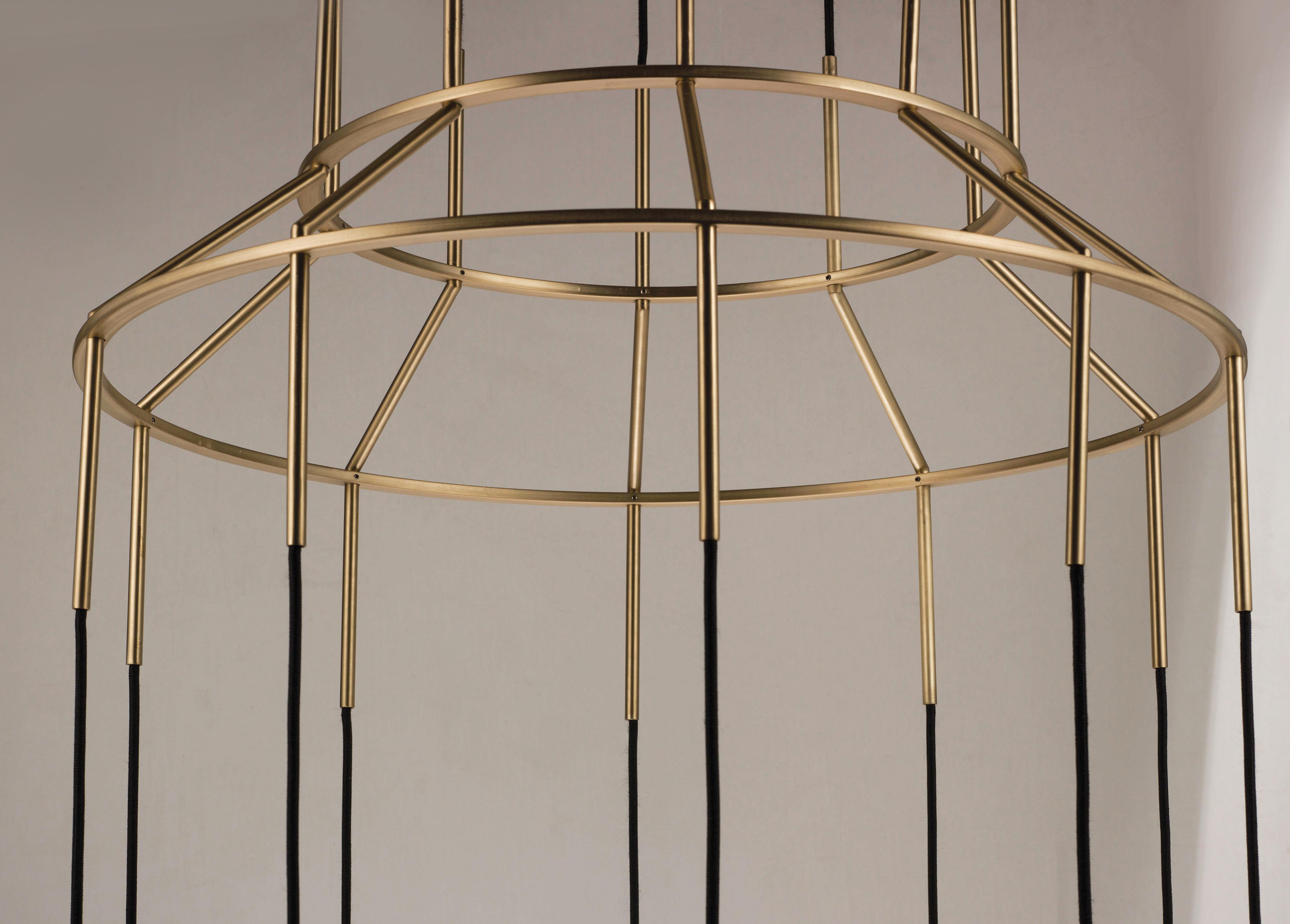 10 Carat LED Round Chandelier Suspension Chandelier Maxim Lighting