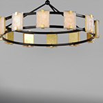 Radiant LED 12-Light Chandelier